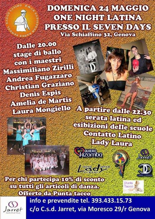 Show del Gruppo di Modern Jazz della scuola C.s.d. Jarret (insegnante Federica Spanu); Show del Gruppo LATIN BOYS di Andrea Fugazzaro